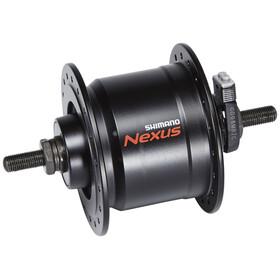 Shimano Nexus DH-C3000-3N Nabendynamo 3 Watt für Felgenbremse/Schraubachse Schwarz